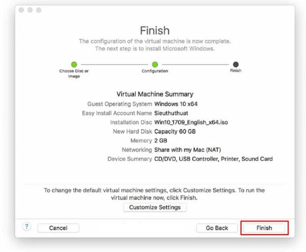 cài windows cho macbook không qua bootcamp