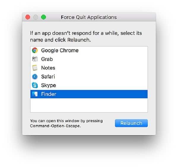 phím tắt macbook