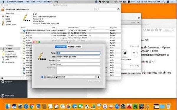 show password wifi mac