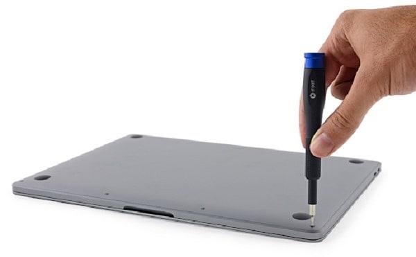 vệ sinh macbook pro