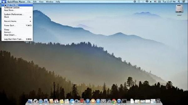 xem cấu hình macbook